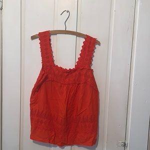 NWOT Old navy orange top